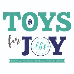 Toys for Joy. Bringing joy all year . at Nicklaus Children's Hospital